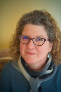 Charlotte McGuinn Freeman, author, writer, and editor at home in Livingston, Montana.